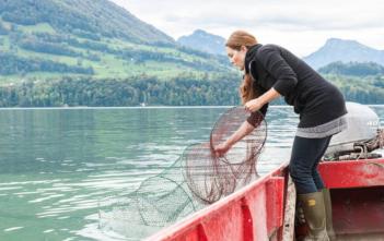 Berufsfischerin Vieerwalstättersee, Schweizerischer Berufsfischerverband SBFV