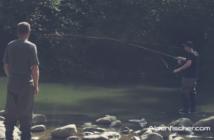 Fliegenfischen, Einhand-Einmaleins, Fliegenfischerkurs