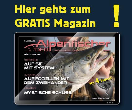 Gratis Anglermagazin, Der Alpenfischer, Kostenloses Fischermagazin