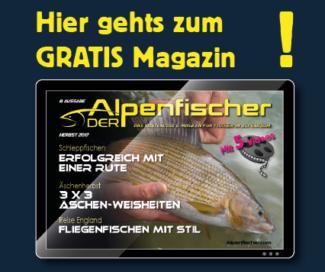 Gratis Fischermagazin, E-Magazin ALpenfischer, Petri Heil, fischen, angeln, Äschenfischen, kostenloses Anglermagazin