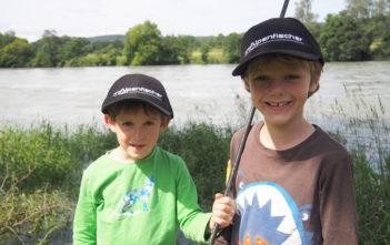 Alpenfischer, Facebook, Rhein, Jungfischer