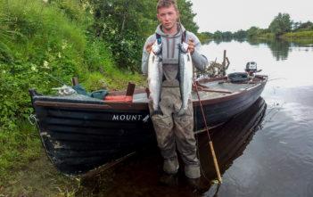 Atlantiklachs, Irland, Fischen, Fischer, Moy, Drowes, Westirland