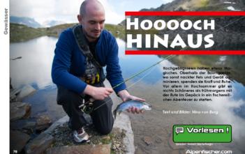 Fliegenfischen, Spinnfischen, Salmoniden, Forelle, Namaycush, Saibling, Alpenfischer, Alpen angeln