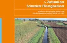Grosse Defizite beim biologischen Zustand der Schweizer Fliessgewässer