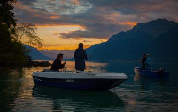 Brienzersee, Fischen, Angeln, Fänge, voralpensee, Hecht, Seeforellen, Tourismus