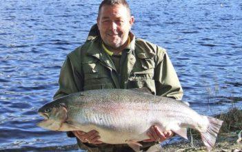 Rekordfang, Regenbogenforelle, England, Schottland, Alpenfischer, Rekordfisch