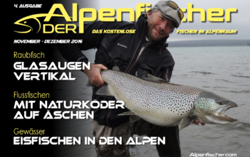 E-Magazin Der Alpenfischer, Ausgabe November/Dezember 2016, fischen, angeln, Fischer, Angler, Petri Heil, Alpen fischen, Gratis Angelmagazin, Gratis Fischerzeitung