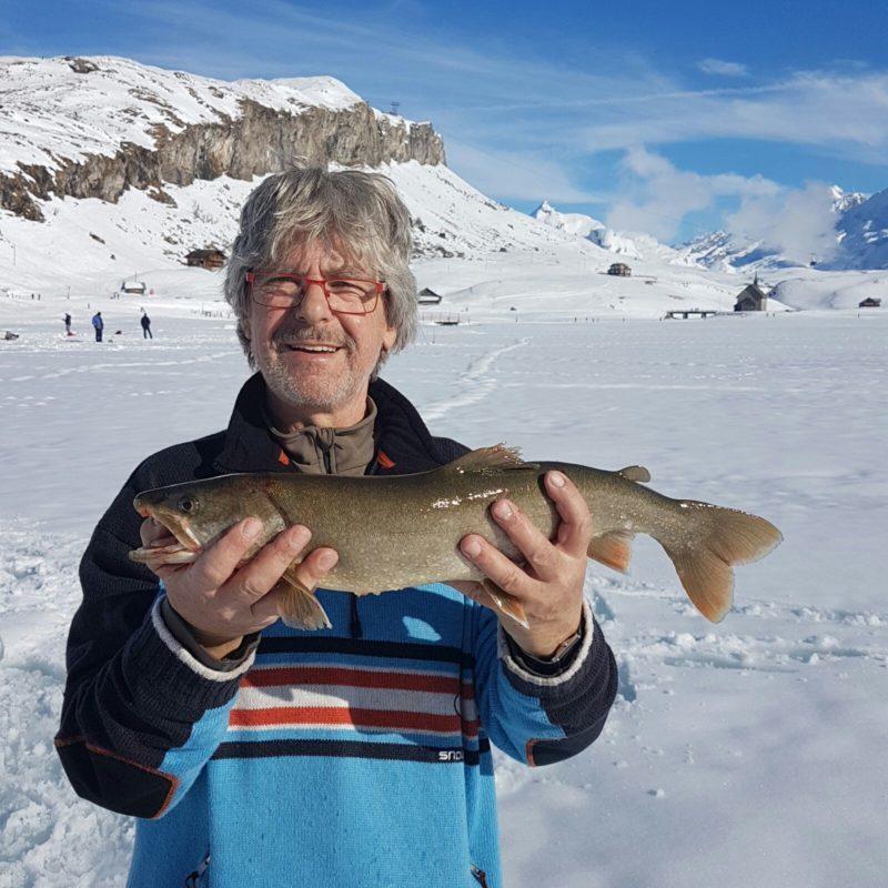 Eisfischen, Melchsee Frutt, Alpenfischer, Saibling, Namaycush, Eisfischer