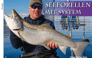 Seeforellen mit System, Bodensee, Schleppfischen, Schleppangeln, Sefo mit Köfi, ALpenfischer, Angler, Fischer, angeln, fischen, Petri Heil