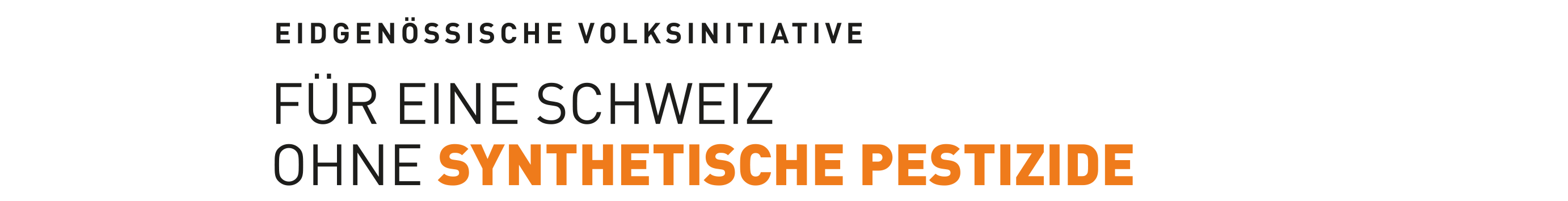 Pestizid Initiative