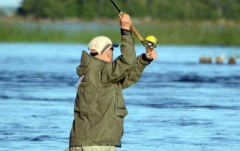 Lögdeälven, Lachsangeln Schweden, Lachsfischen Schweden, Alpenfischer, Anglereise, angeln