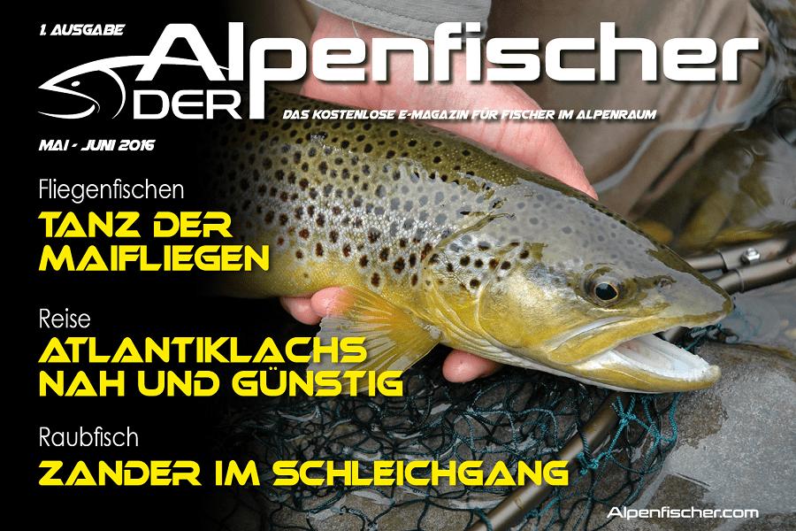 Fischerzeitung, Angler-Gratismagazin, Anglermagazin, Grundfischen, Spinnfischen, Fliegenfischen, Felchen, Wobbler, Baitcaster, Hecht, Forelle