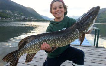 Zeller See, Jungangler, Spinnfischer, Hecht, Fangmeldung, Alpenfischer, fischen, angeln