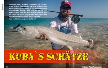 Meeresangeln, Kuba angeln, Karibik fischen, Tarpon, Bonefish, Barrakudas, Alpenfischer, Jacks