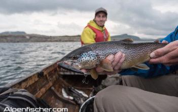 Fischen, Angeln, Alpenfischer