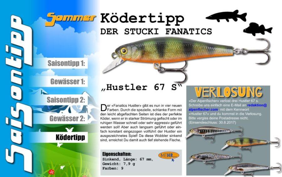 GEWINNER KÖDERTIPP - AUSGABE 7 - Der Alpenfischer