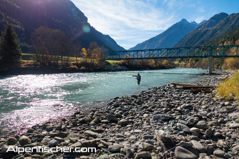 fischen, Inn, Pfunds, Alpenfischer