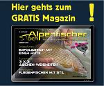 Alpenfischermagazin, Fischen in den Alpen, Das kostenlose Anglermagazin, Forellen fischen, Äschenangeln