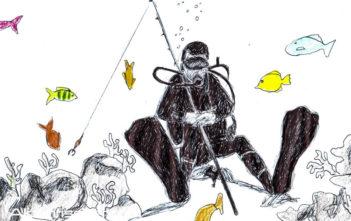 Der Querdenker, Alpenfischer, Anglergeschichten, fischen, angeln, Sportfischer