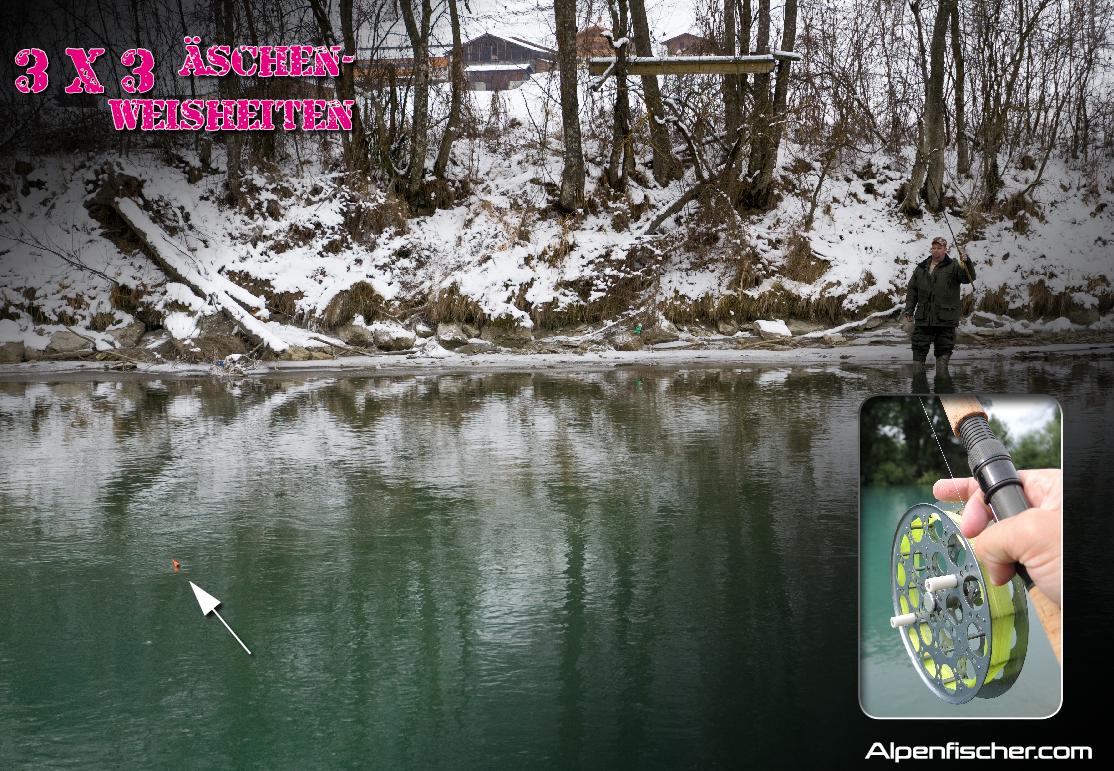fischen, Alpenfischer, Äsche