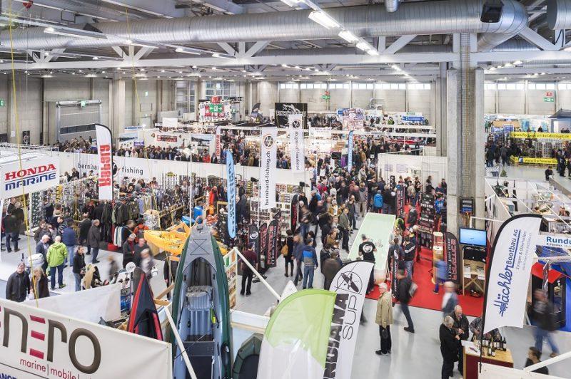 Fischen - Jagen - Schiessen, FJS Bern 2018, Fischermesse, Anglermesse, Medienpartner Alpenfischer