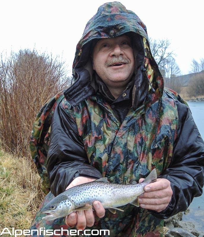 Fischen, Alpenfischer, Linthkanal