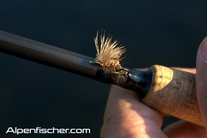 Caddis, Fliegenfischen