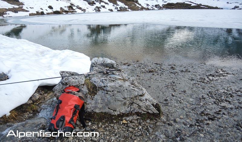 Fischen, Alpenfischer, Bergsee