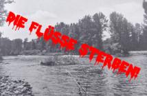 Umweltzerstörung Fluss, Fkusskraftwerke Fischrückgang, Ausbaggerung Flüsse, Renaturierung Flüsse, Alpenfischer