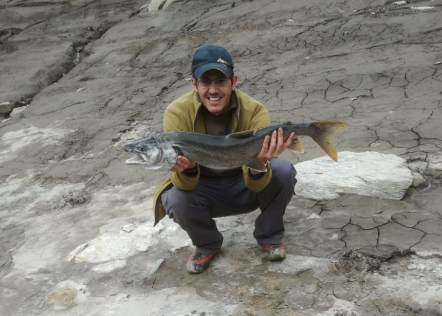 Bündner Namaycush, Saibling, Bergseefischen, Bergseeangeln, Lai da Nalps, Alpenfischer, Petri-Heil, Surselva