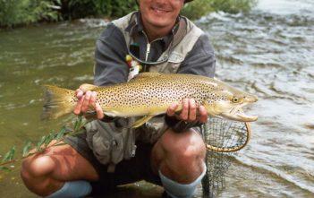 Fischen, Alpenfischer, Browntrout, Neuseeland