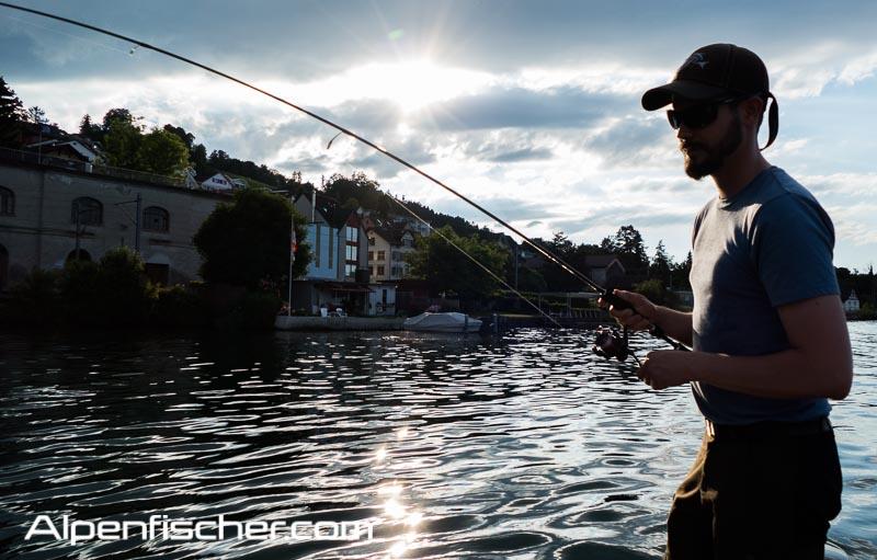 Fischen, Spinnfischen, Morgen