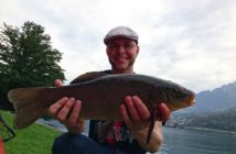 Fangmeldung Schleie, Schlei Vierwaldstättersee, angeln, fischen, Friedfisch angeln, alepnfischer.com