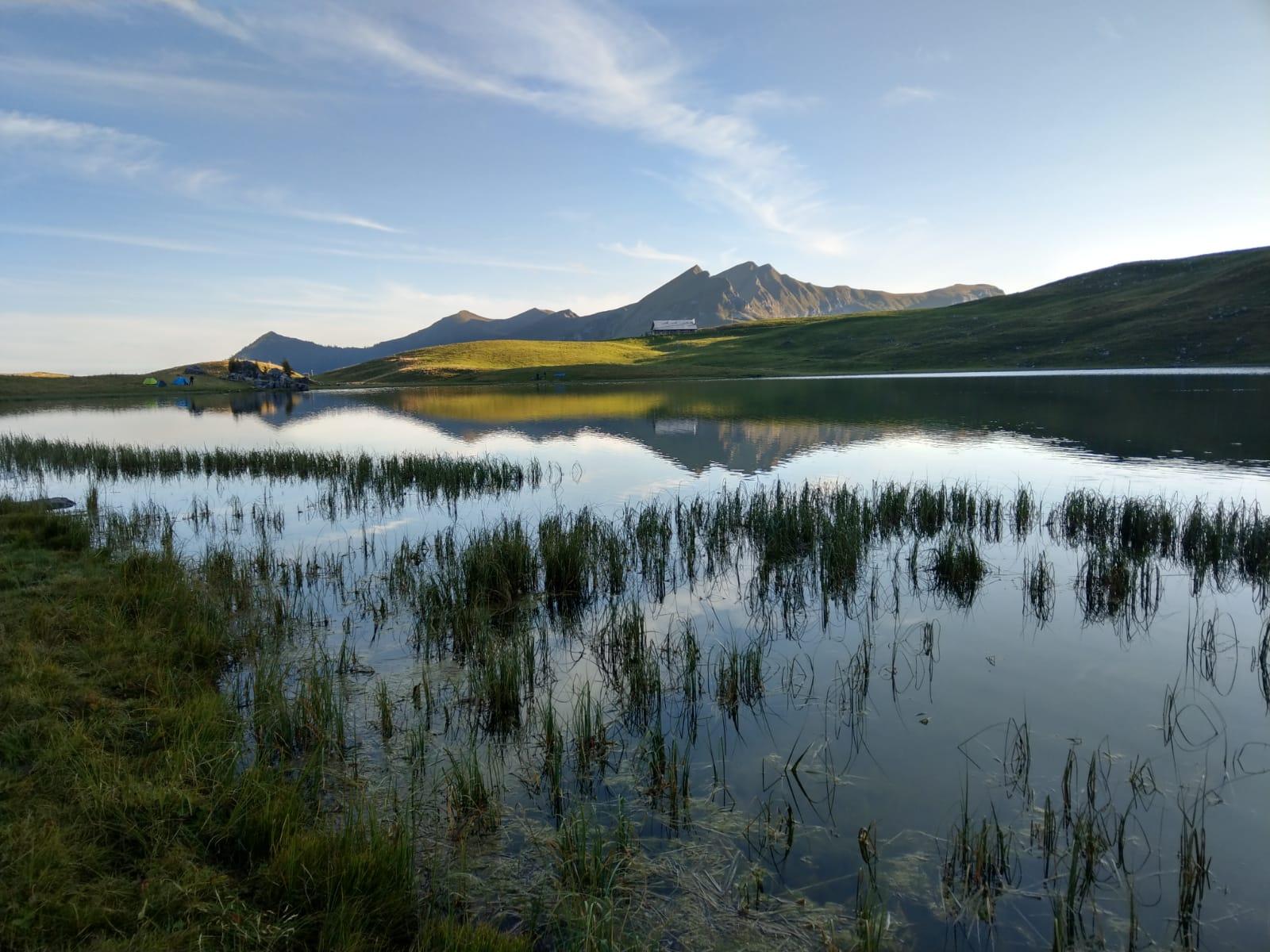 Fischen, Alpenfischer, Bergsee, Seefeldsee