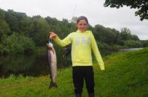 Salmon fishing, Irland, Moy, Alpenfischer, Coolcronan