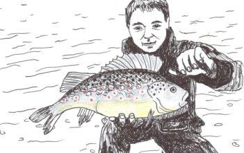 Der Querdenker, Alpenfischer, Studie Fischerei