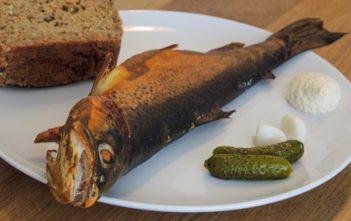 Räuchern, fischen, Alpenfischer