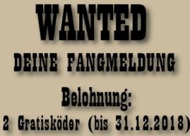 WANTED – FANGMELDUNG