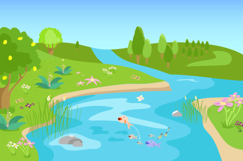 alpenfischer.com, Referenzzustand Flusskraftwerk