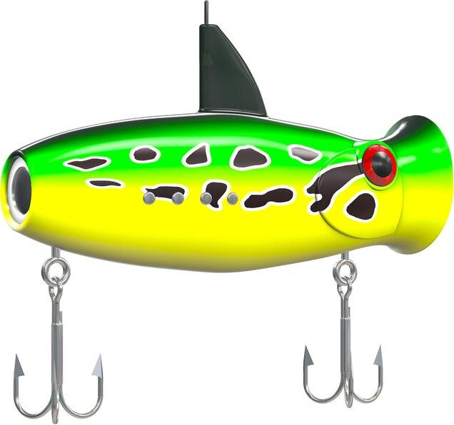 Hechtköder mit Unterwasserkamera, Galaxus, Eco-Popper, alpenfischer.com