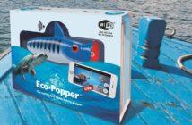Eco-Popper, Popper, Köder mit Unterwasserkamera